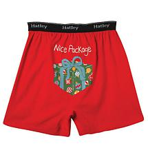 Men's Holiday Boxers - Nice Package (Red)
