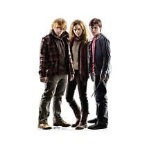 Life-Size Cardboard Movie Standup - Harry Potter Harry Hermione & Ron Trio
