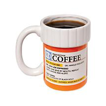 Prescription Bottle Coffee Mug 12 Ounce Ceramic