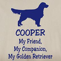 Personalized My Friend, My Companion Shirt - Golden Retriever