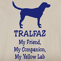 Personalized My Friend, My Companion Shirt - Yellow Lab