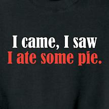 Personalized I Came I Saw Shirt