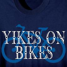 Yikes On Bikes T-Shirt