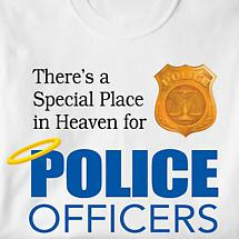 Special Place In Heaven Shirt - Police Officers