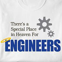 Special Place In Heaven Shirt - Engineers