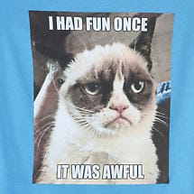 Grumpy Cat Junior T-Shirt