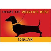 World's Best Dog Personalized Doormat