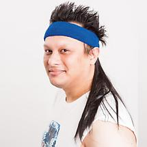 Mullet Bands - The Black Mamba (Blue Band)