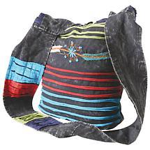 Razor Cut Cross Body Shoulder Bag