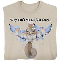 Why Can't We All Just Share T-Shirt