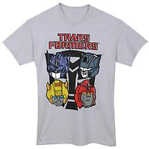 Transformers Heads T-Shirt