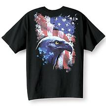 Eagle And Flag T-Shirt