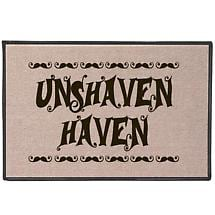 Unshaven Haven Doormat