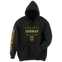 Lean Mean German Machine Hoodie Sweatshirt - International