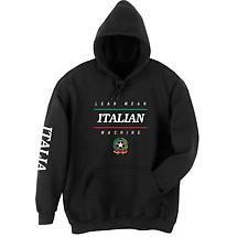 Lean Mean Italian Machine Hoodie Sweatshirt - International