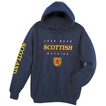 Lean Mean Scottish Machine Hoodie Sweatshirt - International