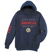 Lean Mean American Machine Hoodie Sweatshirt - International