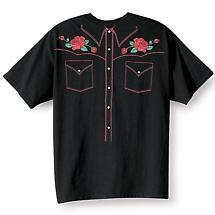 Western Shirt T-Shirt
