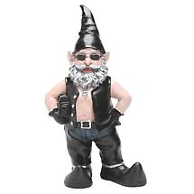 Biker Dude Gnomes