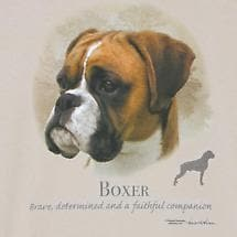 Dog Breed Shirts - Boxer