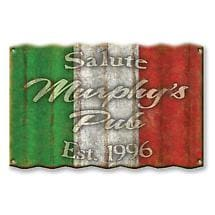 Personalized International Flag Signs - Italy
