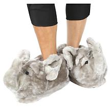 Comfy Feet Plush Slippers with Elephant