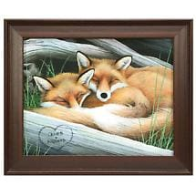 Sleeping Fox Personalized Print