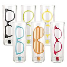 Eyeglasses Shot Glasses Set