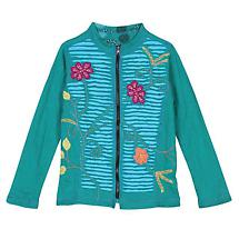 Flower Power Reversible Cotton Jacket