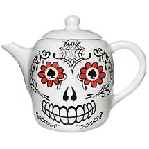 Lucky Day Of The Dead Teapot