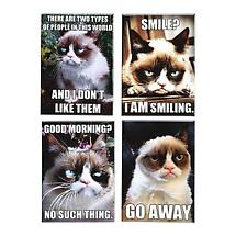 Grumpy Cat Magnet Set of 4 Refrigerator Magnets