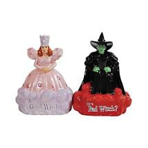 Good Bad Witch Salt Pepper Shakers