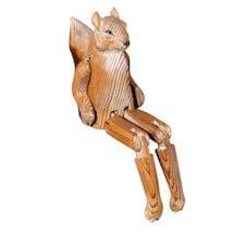 Handcarved Shelf Sitters- Squirrel