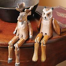 Handcarved Shelf Sitters- Owl