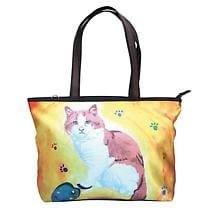 Cat Painting Tote