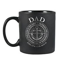 Strong & Courageous Dad Mug