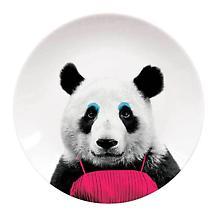 Patricia Panda Wild Dining Plate in Ceramic