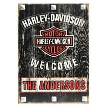 Harley-Davidson Personalized Sign
