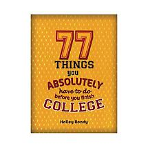 77 Things Before You Finish College