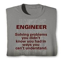 Engineer Solving Problems Hooded Sweatshirt