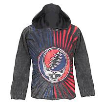 Grateful Dead 50th Anniversary Long Sleeve Hoodie in Cotton