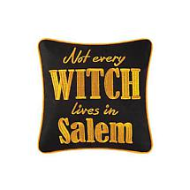 Not Every Witch Halloween Pillow
