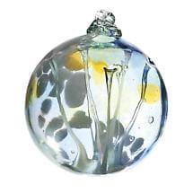 Handblown Glass Orbs- Peace
