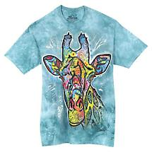 Colorful Animal T-Shirt- Giraffe