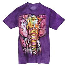 Colorful Animal T-Shirt- Elephant