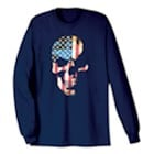 Americana Skull Long Sleeve T-Shirt