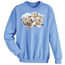 Fox Family Animal Sweatshirt