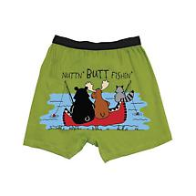 Comical Boxers- Nuttin Butt Fishin