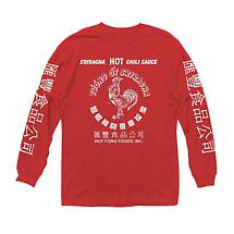 Sriracha Long Sleeve T-Shirt