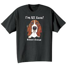 Dog Breed Tee- Basset Hound